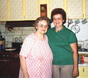 Grandma Losch and Aunt Doll