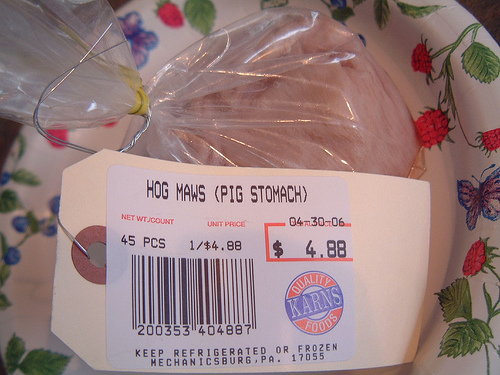 Pig Stomach, a.k.a. Hog Maw